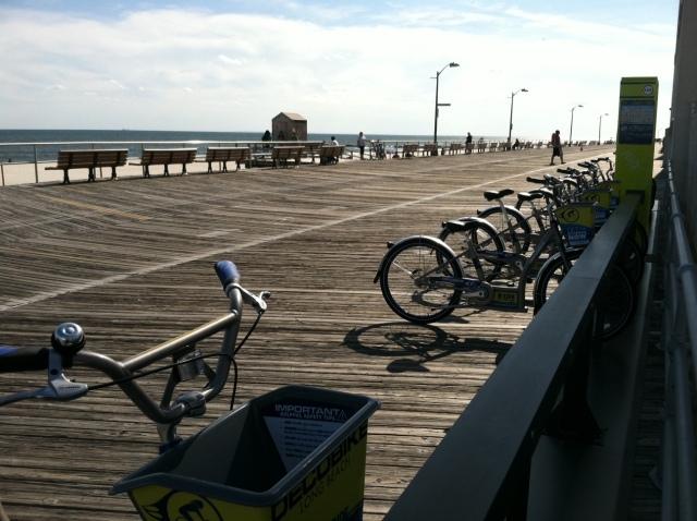 Bikes have arrived in bikeshare kiosks in Long Beach, NY